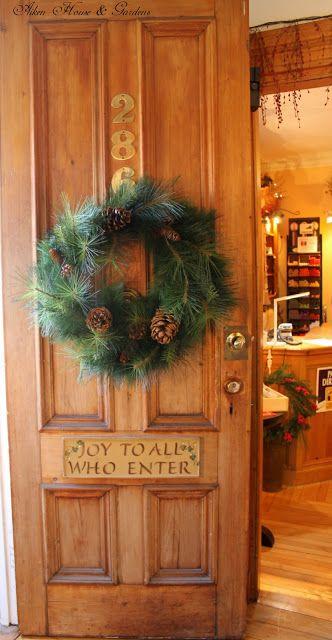 Joy to All Who Enter (from Aiken House & Gardens)