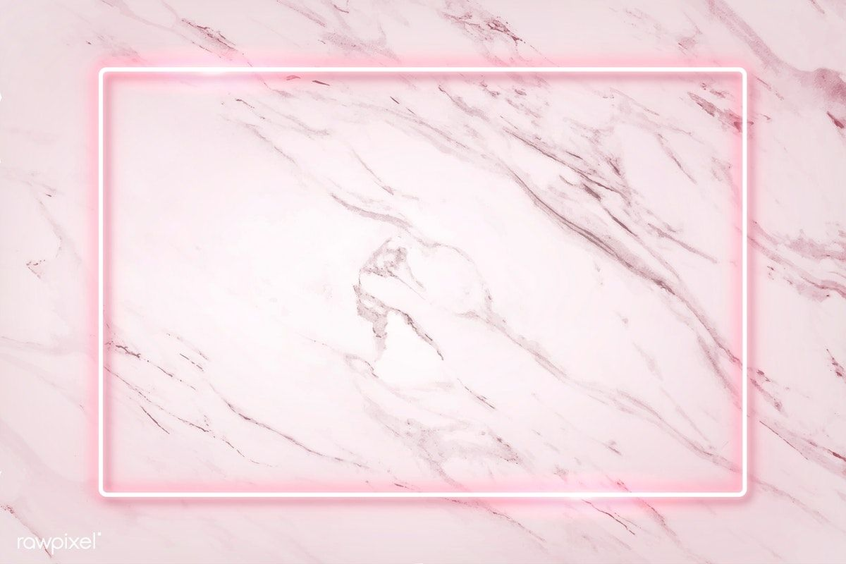 Download Premium Vector Of Rectangle Pink Neon Frame On A White Marble Pink Neon Wallpaper Pink Wallpaper Backgrounds Pink Wallpaper Desktop