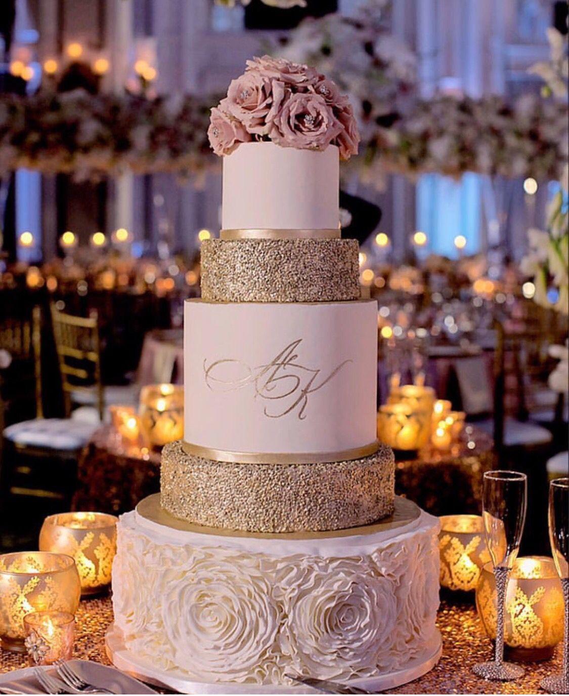 Wedding cake table decoration ideas  Simple  Elegant Wedding Inspirations  Pinterest  Peonies Martin