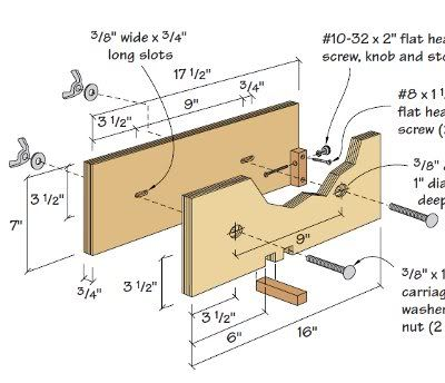 19 Box Joint Jig Plans: Finger Joints on the Table Saw and ...