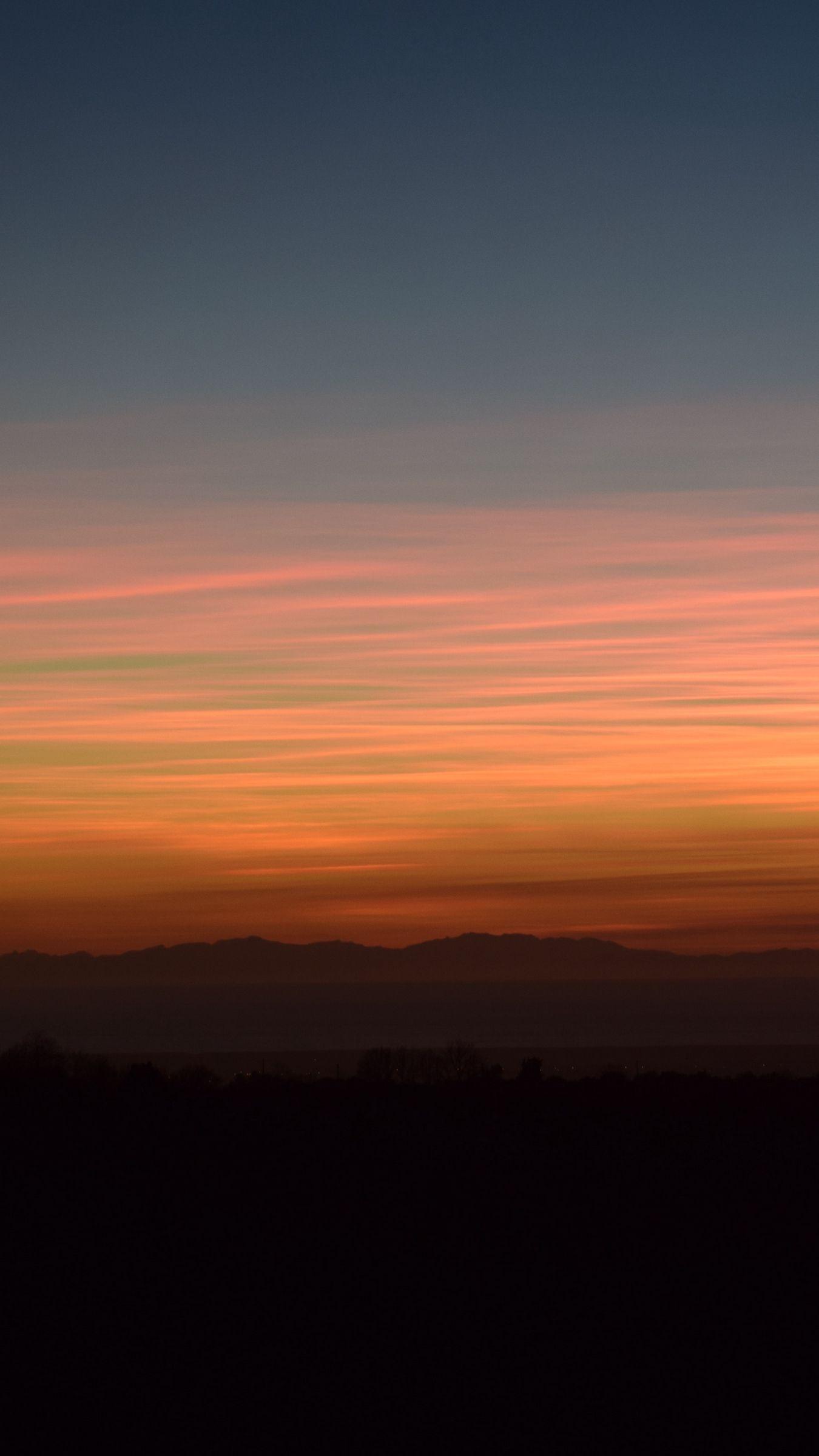 Clouds Horizon Sunset Landscape Wallpaper Sky Aesthetic Sunset Wallpaper Hd wallpaper sky clouds sunset dusk