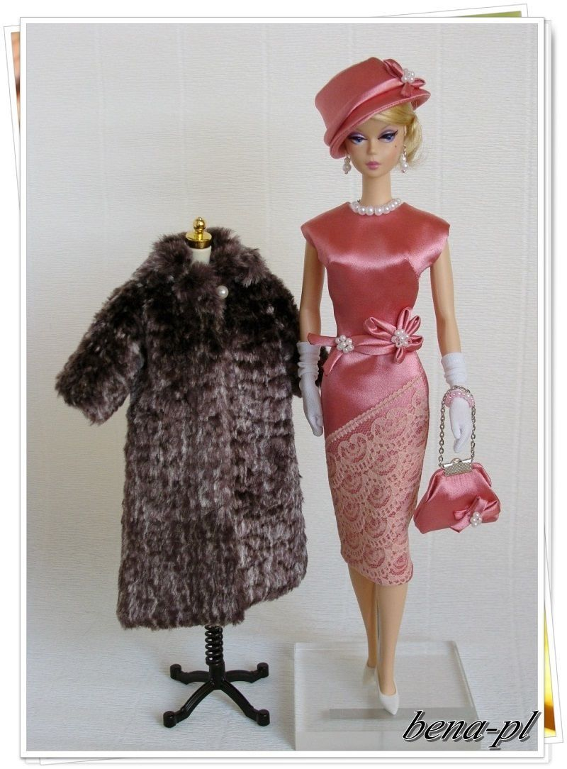 Bena PL Clothes for silkstone Vintage Barbie Fr Victoire Roux OOAK Outfit | eBay