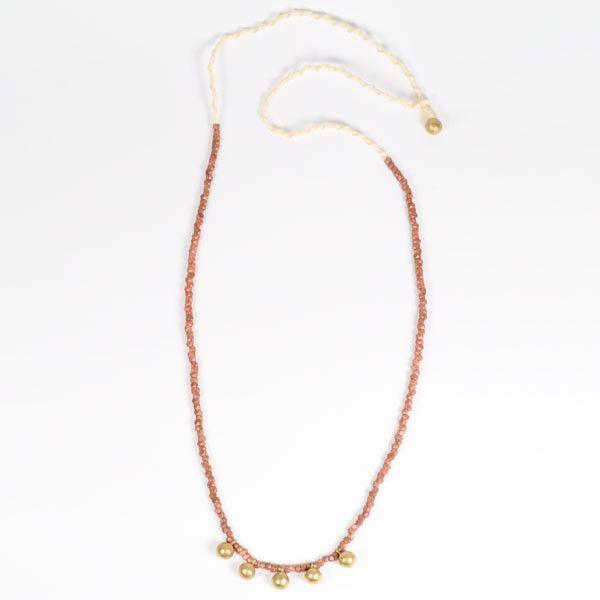 Fair Trade Copper Orissa Shakti Necklace