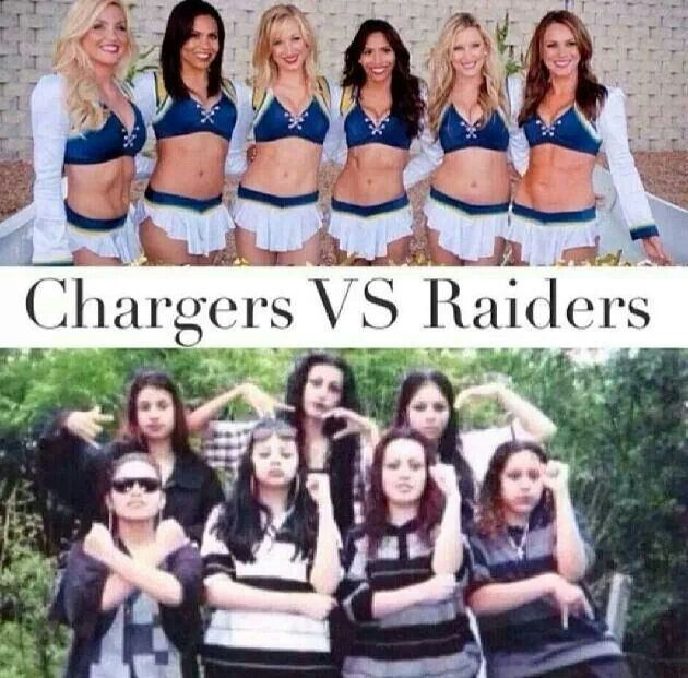 San Diego Chargers Cheerleader: San Diego Chargers Cheerleaders ~ Oakland Raiders
