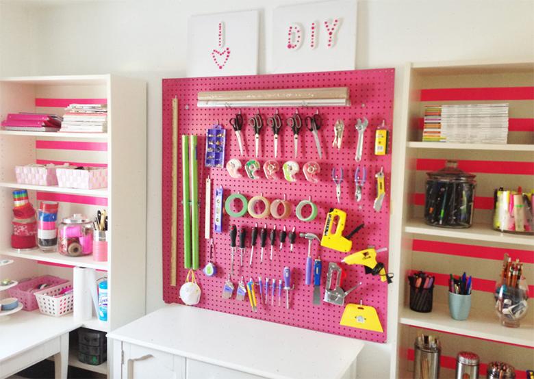 como decorar e organizar um ateli em casa
