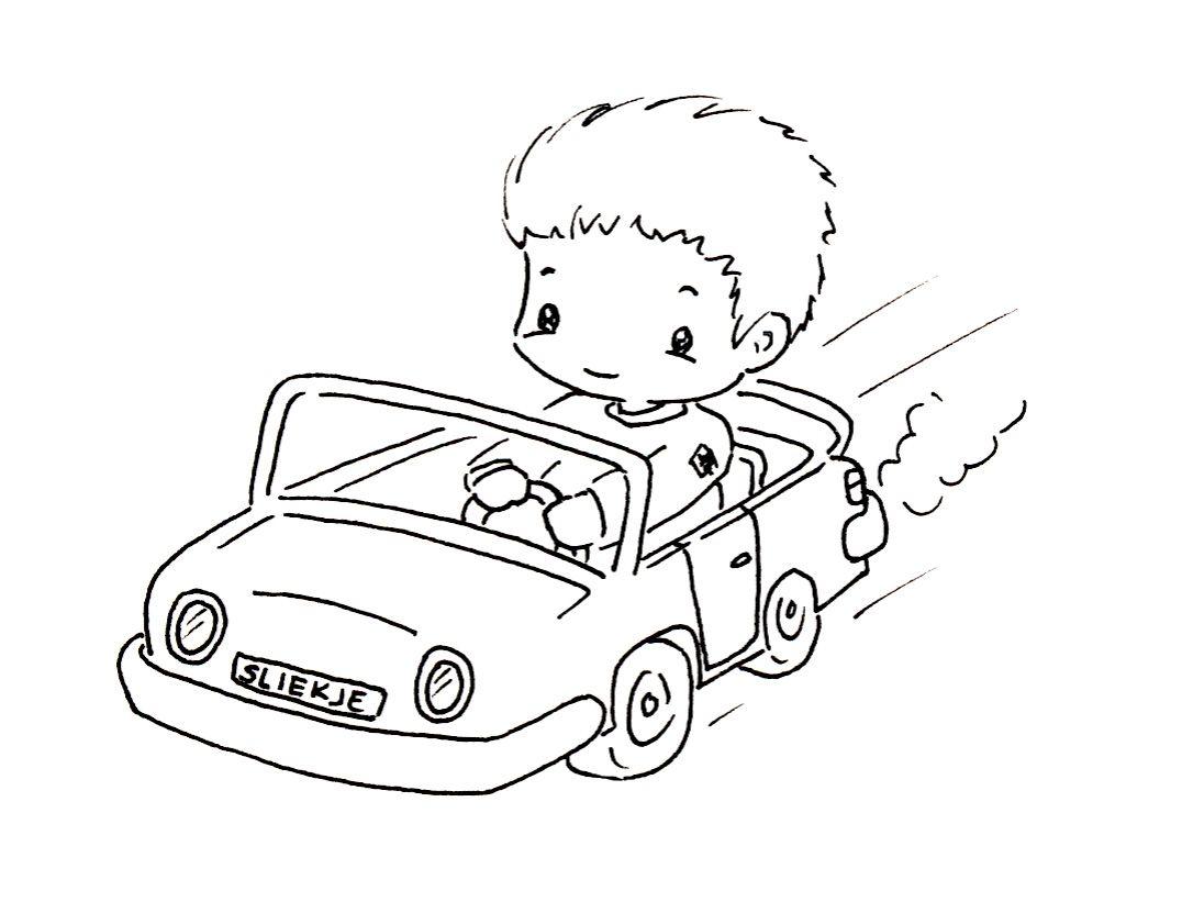 Sliekje Digi Stamps Fast Car
