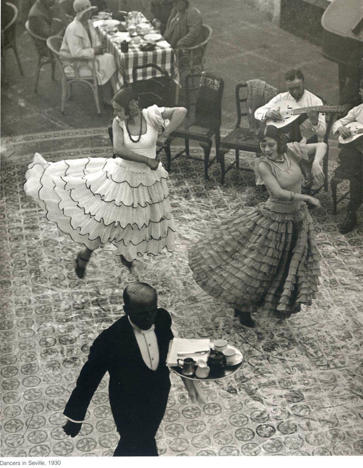 Dancers In Seville Spain 1930 Martin Munkcsi