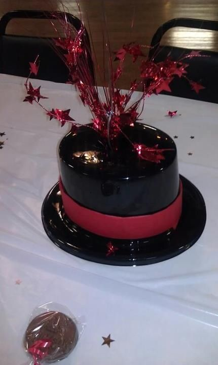 Top hat centerpiece sharon s decorations inc