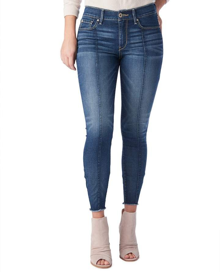 7af75d09011 Levi's Denizen From Levis Juniors' DENIZEN from Seamed High-Waisted Ankle  Jeggings