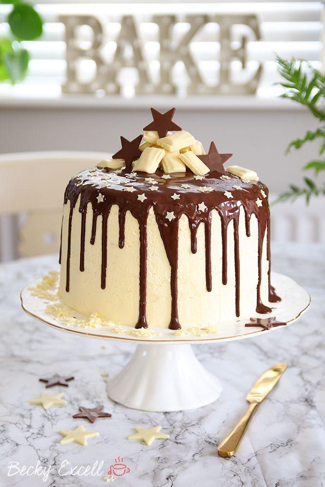 Gluten Free Chocolate Drip Cake Recipe Cake Glutenfree Lowfodmap Fodmap Drip Cake Recipes Gluten Free Chocolate Drip Cakes