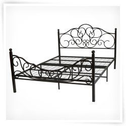Glideaway Queen Metal Bed Frame Steel Bed Frame Cheap Metal Bed