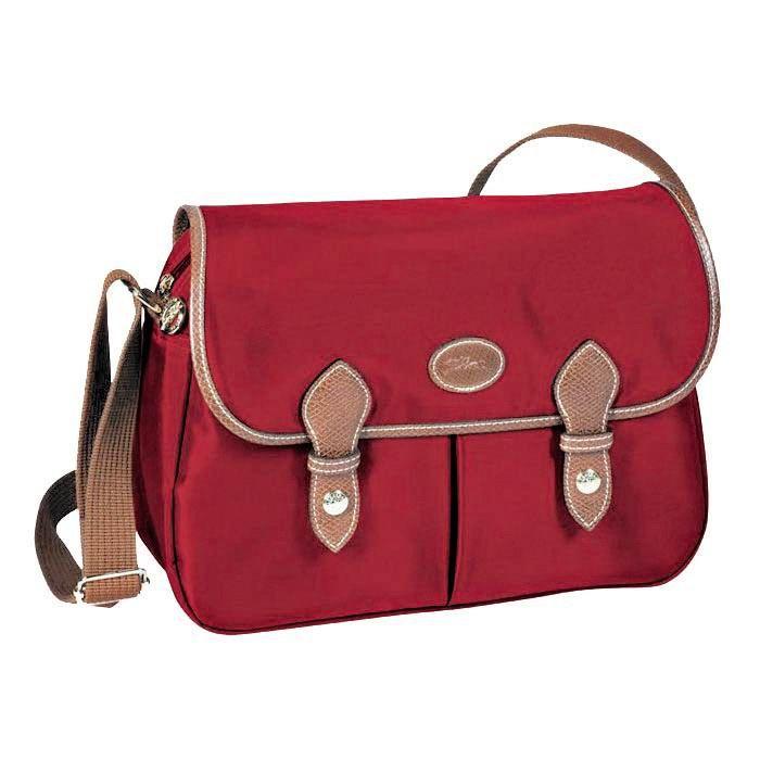 Longchamp Le Pliage Messenger Red | Sac longchamp, Sac, Sac hobo