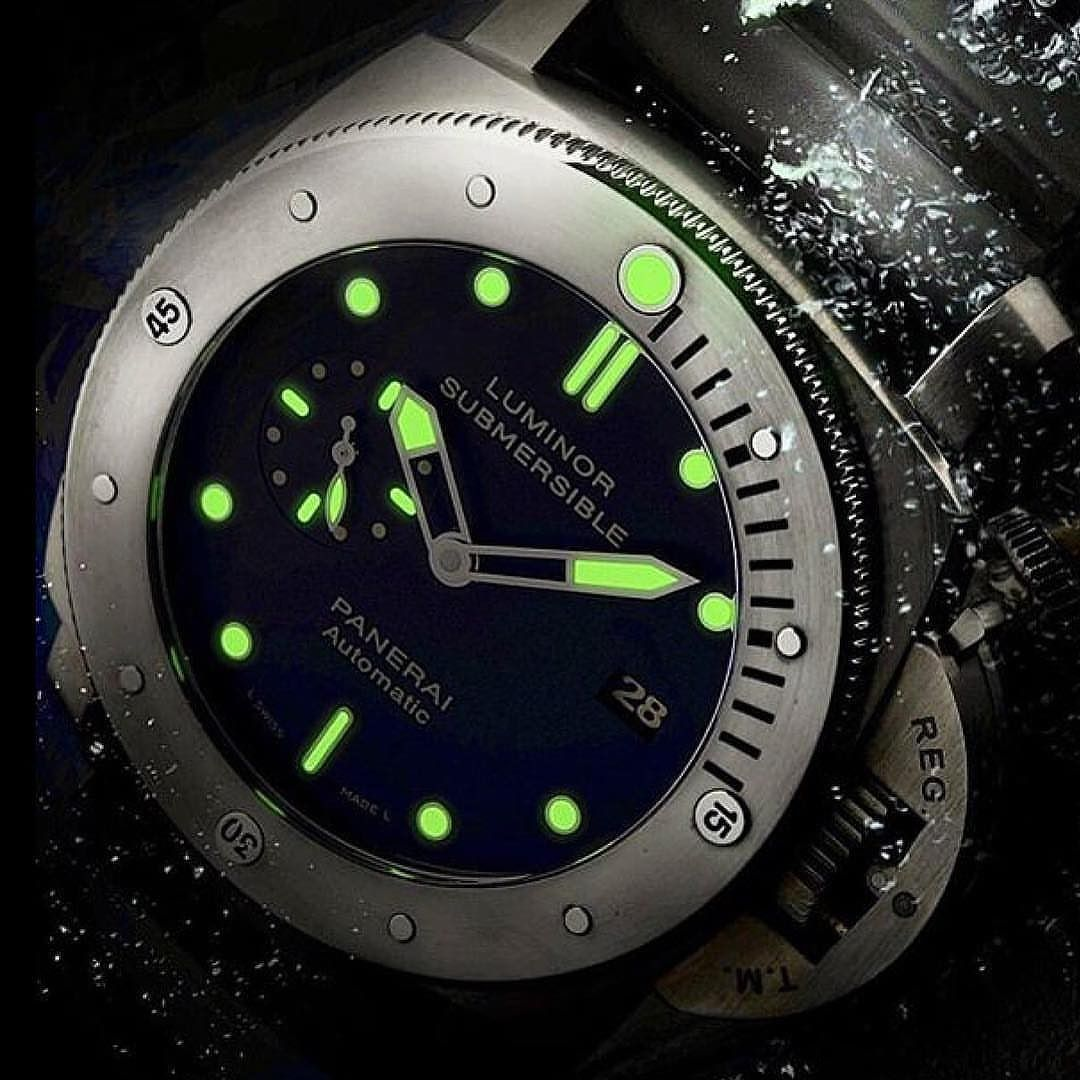 Here is a nice shot of PAM00305 by  @panerai .  Shop now at panerai.com (USA only)  #panerai #submersible