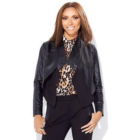 e9263888fb4 G by Giuliana Rancic Ultra Luxe Cascading Jacket