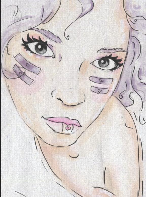 #wacom #bamboo #sketch #draw #illustration #designe #bombonmarin #dibujo #ilustracion #boceto #sexy ilustración/Giorgana