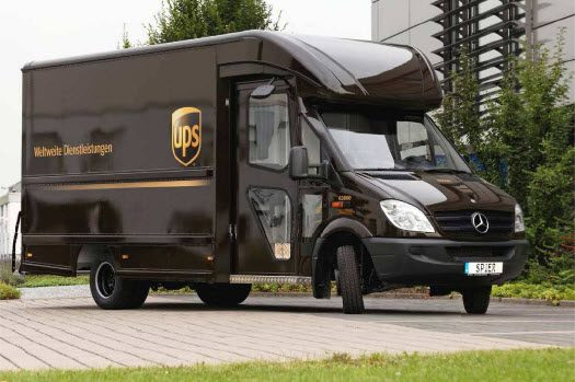 Global Logistics Media New Generation Of Ups Delivery Truck Has Arrived Images Http Www Globallogisticsmedia Com Trucks Commercial Vehicle Mercedes Truck