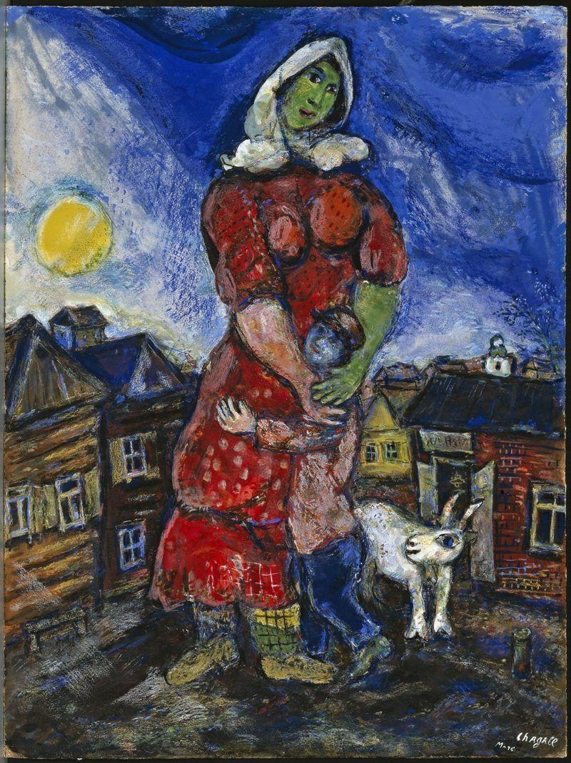 Marc Chagall Werke Marc Chagall Pinterest Marc Chagall