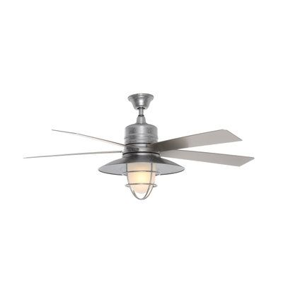 Home decorators collection grayton 54 in indoor outdoor galvanized ceiling fan