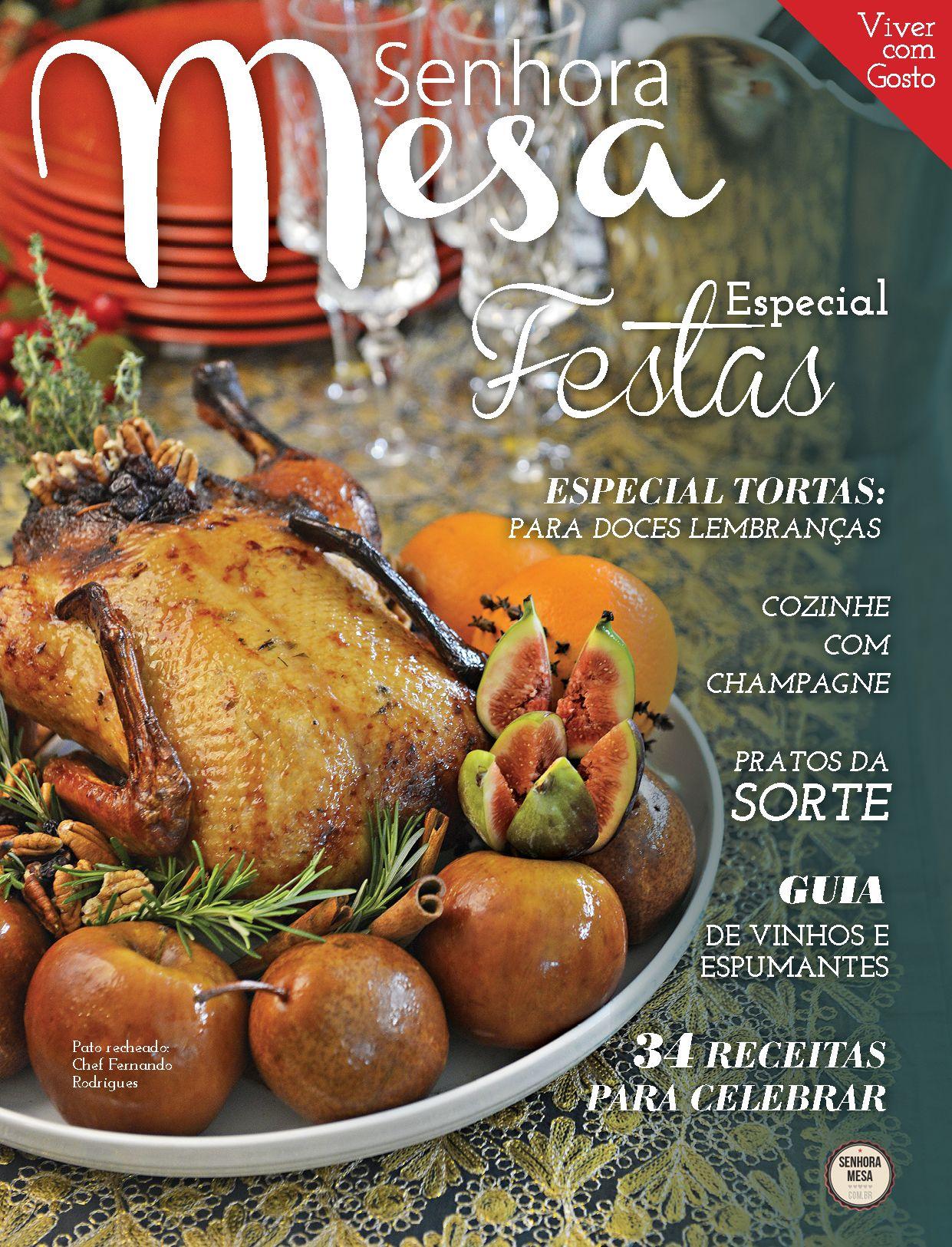 Edição Especial de Fim de Ano da Revista Senhora Mesa 2013!