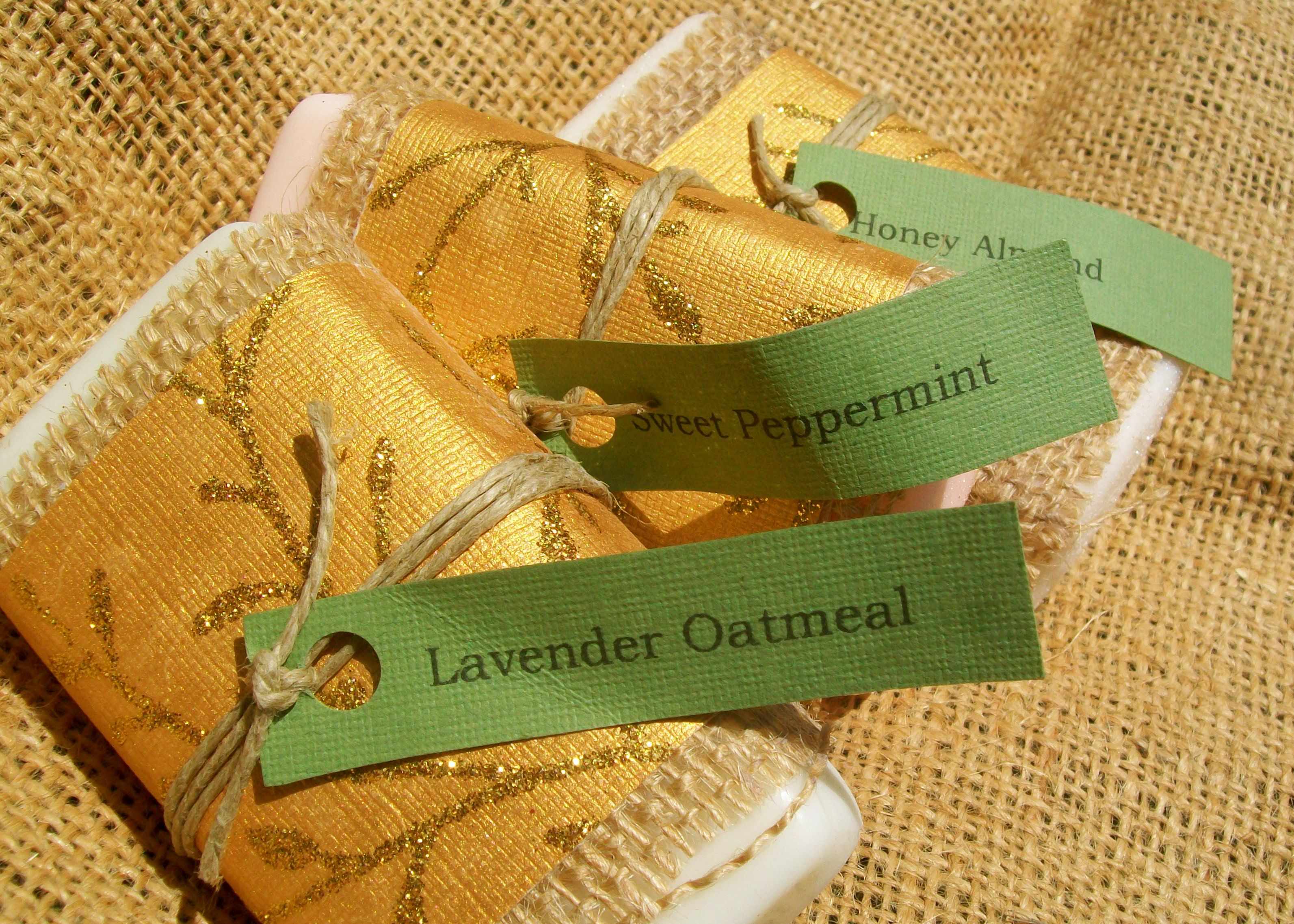 Heather ,Ooh La Lather Soaps offers all natural homemade soaps in Honey Almond, Lavender Oatmeal, Sweet Peppermint, and Eucalyptus Lavender indulgent scents. A creamy, hydrating Goat's milk base is used to soothe dry skin. Soap also contains plant-derived ingredients and essential oils for a rich texture and scent.