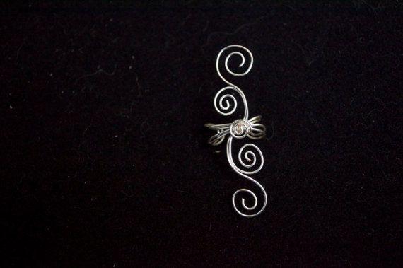 Tamaño completo elegante doble Remolino manguito por SilverNSteel