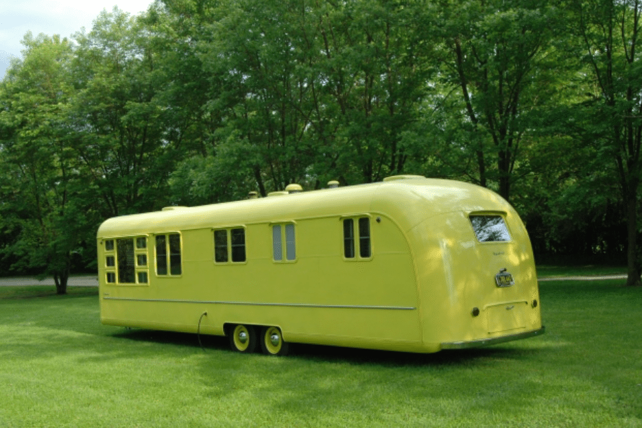 Rare '50s Camper Has an Untouched Interior That Will Take You Back