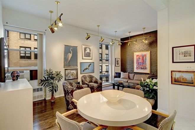 Apt 610 University Place Broadway Small Nyc Apartment For Sale In Greenwich Village Manhattan One Bed Nyc Apartment Loft Spaces Small Apartment Interior