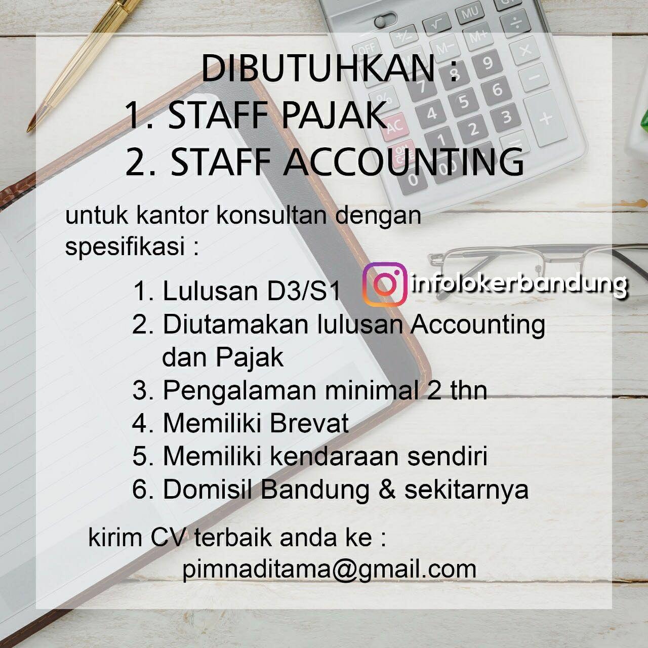 Lowongan kerja staff pajak staff accounting bandung februari 2018 lowongan kerja staff pajak staff accounting bandung februari 2018 junglespirit Image collections