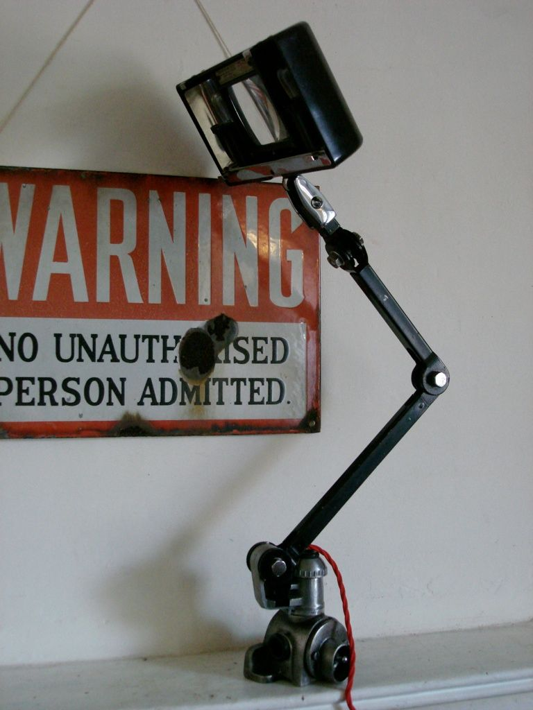 Image result for anglepoise magnifying lamp
