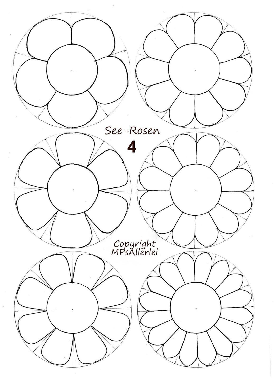 Vorlagen Blumen Basteln Dansenfeesten Ganzes Blume Bastelvorlage Jpg Vorlagen Blumen Basteln Blumen Basteln Papierblumen Basteln Vorlagen
