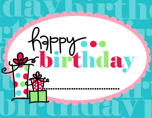 15 free birthday printables – Free Birthday Cards to Print