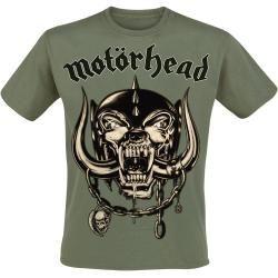 Motörhead Army Green Herren-T-Shirt - oliv - Offizielles Merchandise