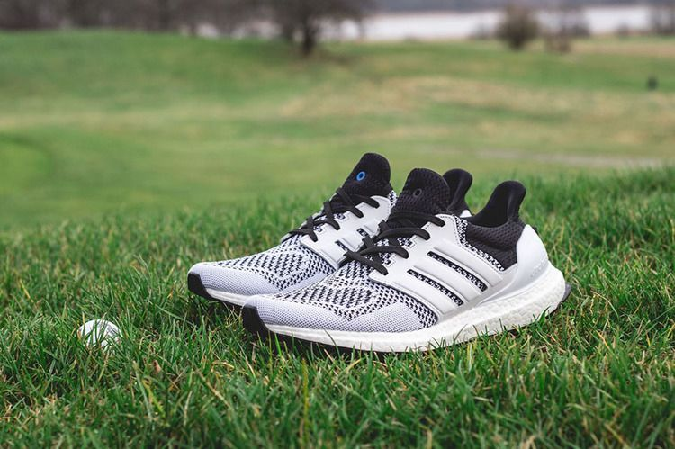 separation shoes 11a8e 0860c SNS x Ultra Boost Tee Time - Adidas - AF5756 - blackwhite  GOAT