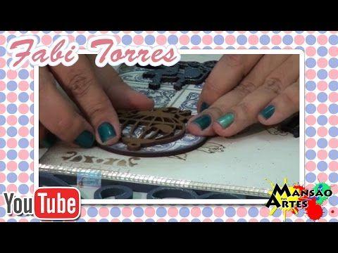 Passo a Passo: Placa Bem Vindo MDF - Pintura, Stencil e Apliques - Mansão das Artes - YouTube