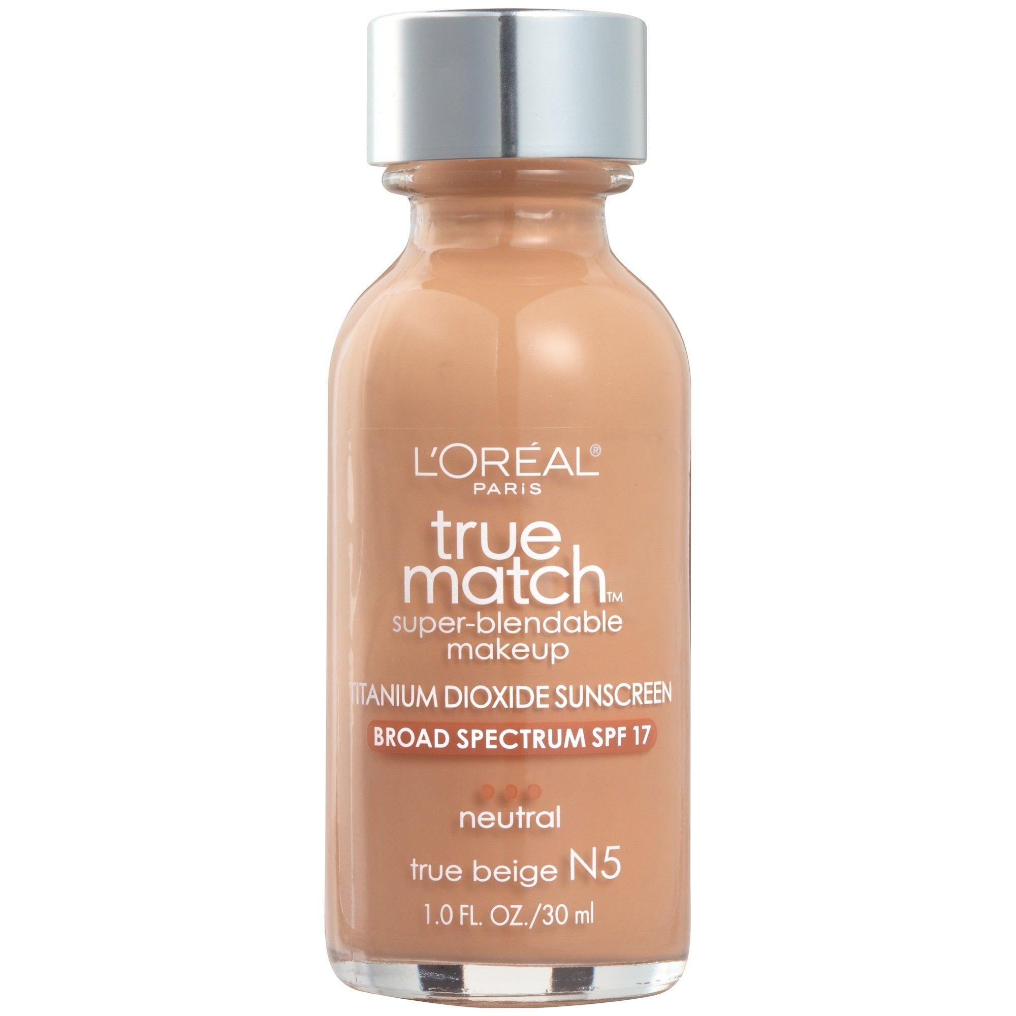 L'Oreal Paris True Match Makeup N5 True Beige 1 fl oz