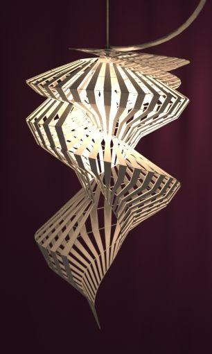 3d Printed Lampshade By Studioluminaire 3dprintedlightning Lampendesign Design Lampen 3d Druck