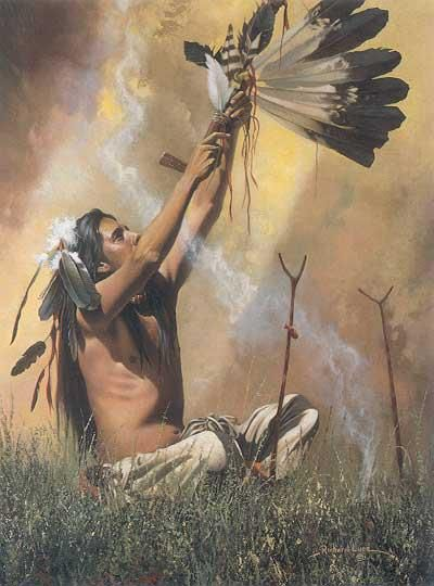 Wakan Tanka, Great Spirit hear me for I am small and weak and need your strength and wisdom.