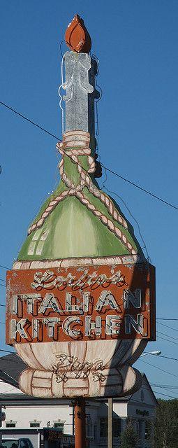 Lorito S Italian Kitchen Ocala Fl Vintage Neon Signs Old Neon Signs Retro Signage