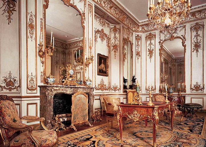 4 boiseries de nicolas pineau h tel de varengeville vers 1735 style rococo hds louis xv. Black Bedroom Furniture Sets. Home Design Ideas