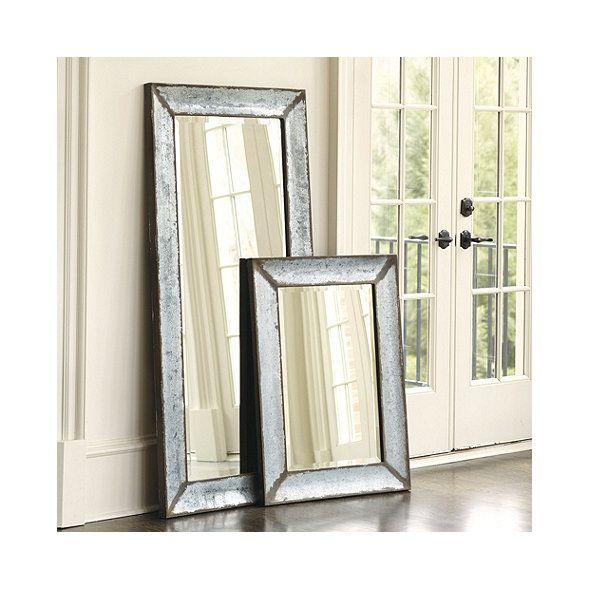 Zinc Framed Mirror   Ballard Designs   Mirror frames ...