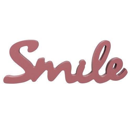 Mot déco bordeaux L20 SMILE | Wishlist | Pinterest | Maison du monde ...