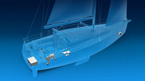 E Volution For Sea Vessels Zf Develops Fully Electric Propulsion System For Sailing Yachts Sailing Yacht Yacht Propulsion