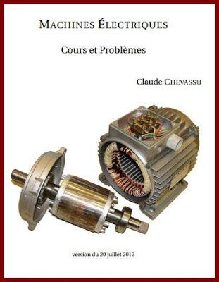 MACHINES ÉLECTRIQUES Cours et Problèmes ~ Cours D ...
