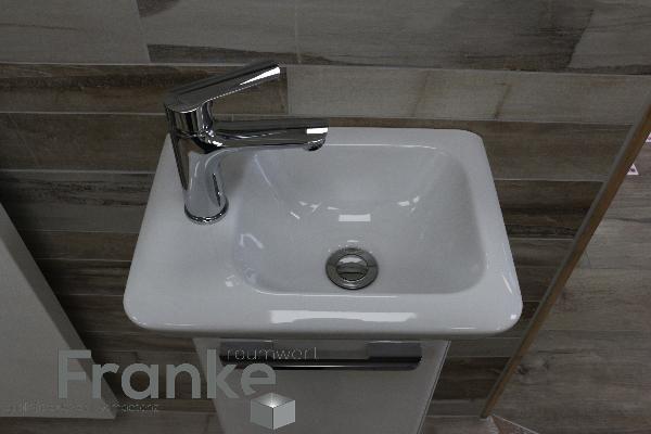 Kleine platzsparendes Waschbecken von Keramac mit dem passenden - badezimmer waschbecken mit unterschrank