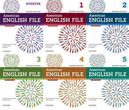 كورس تعليم اللغة الإنجليزية American English File اسطوانات تعليم