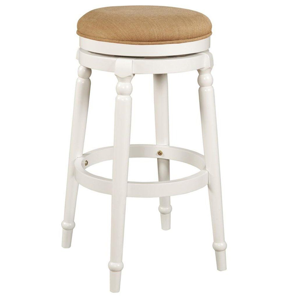 Aesthetic Counter Height Backless Swivel Bar Stools Backless Bar