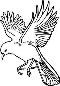 Bird In Flight Stencils Free Printable Bing Images Bird Outline Bird Drawings Flying Bird Drawing