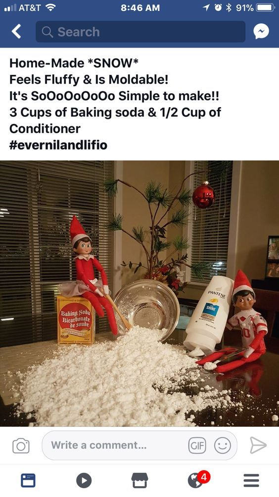 Amazon.com: The Elf on the Shelf: A Christmas Tradition : Chanda A. Bell, Carol V. Aebersold, Coe Steinwart: Toys & Games #naughtyelfontheshelfideas
