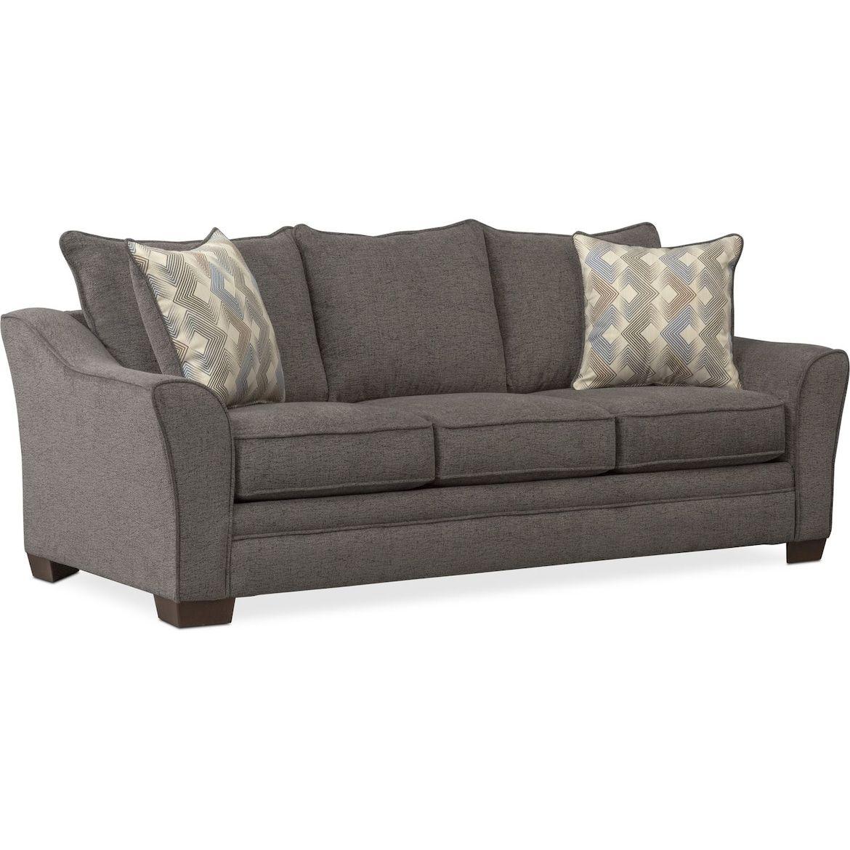 Trevor Queen Sleeper Sofa White furniture living room