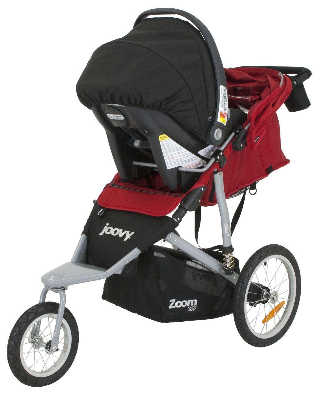 Zoom 360 Ultralight Jogging Stroller Car Seat Adapter